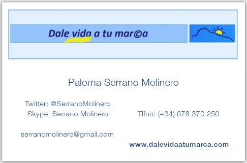 Dale vida a tu marca-Serrano Molinero