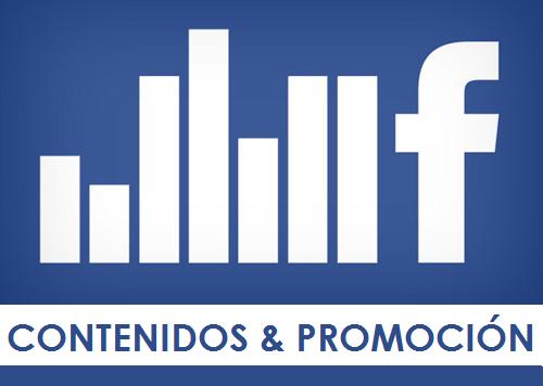 promoción y contenidos facebook